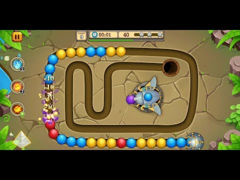 Jungle Marble Blast 2 (by coolstudios) - casual game for Android - gameplay.