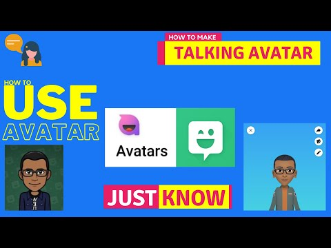 How to create a talking avatar with mobile phone