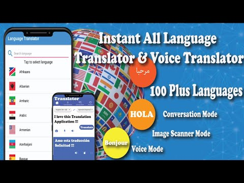video review of Instant All language translator &voice translation