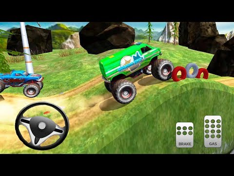 Off Road Monster Truck Driving ☆ Android Gameplay by Super KarsTV