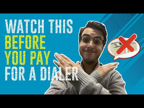 The Best FREE Dialer! Watch This Before You Pay For A Dialer - Dials Hundreds Of Phone Numbers