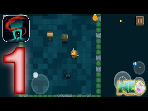 Soul Knight: Gameplay Walkthrough Part 1 - Level 1-1 - 1-2 Complete (iOS, Android)