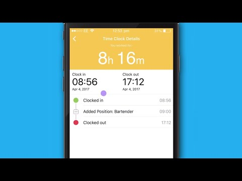 Humanity Mobile Staff Scheduling App