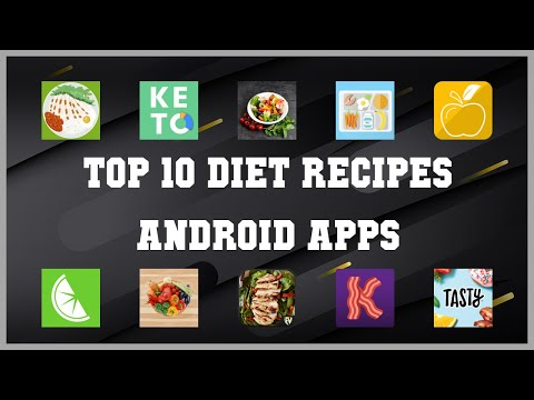 Top 10 Diet Recipes Android App | Review