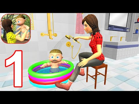 New Virtual Mother Life Simulator - Gameplay Walkthrough Part 1 Levels 1-8 (Android, iOS)