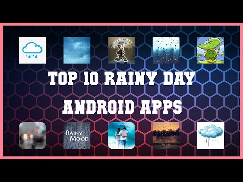 Top 10 Rainy day Android App | Review