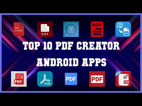 Top 10 PDF Creator Android App   Review