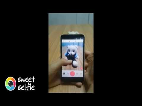 How To Use Android App——Sweet Selfie