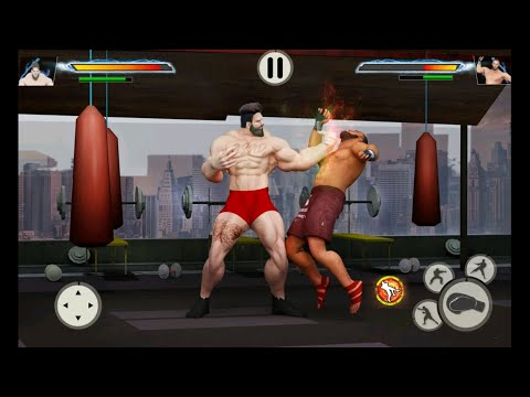 GYM Fighting Games: Bodybuilder Trainer Fight PRO | android gameplay - Free Games Download