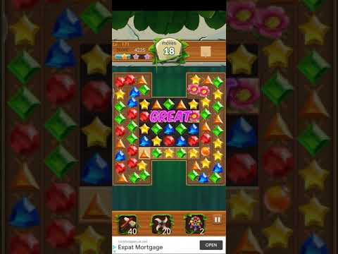Jewels Jungle 💎 - Jewels & Gems Match 3 Puzzle 2021 Level 171 ⭐⭐ no Booster 👑 Android Gameplay ✅