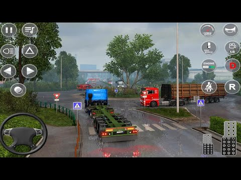 Euro Truck Transport Simulator 2 - Cargo Truck Driving 2021 - Android Gameplay