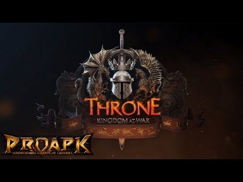 Throne: Kingdom at War Gameplay iOS / Android