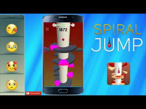 Spiral Jump Levels: this is like Helix Jump