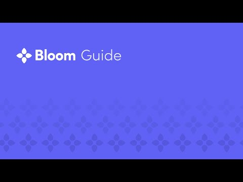 Bloom Guide 003 - Accepting an Invite
