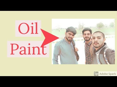 How to Make Oil Paint of Your Photos In free || Funkey Videos