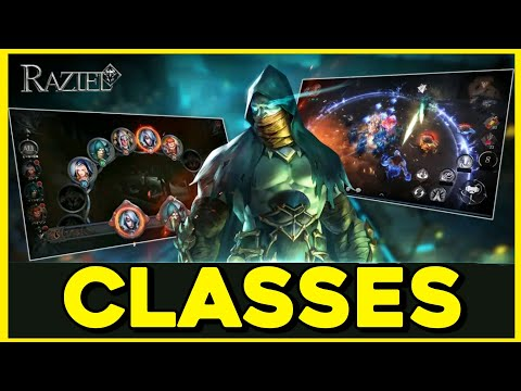FULL TRAILER ALL CLASSES RAZIEL: DUNGEON ARENA ACTION RPG (ANDROID & IOS)