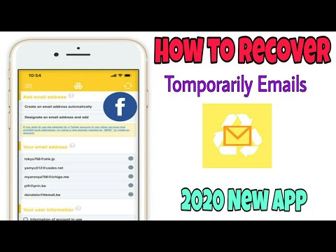 Instaddr দিয়ে  যেভাবে unlimited  facebook id খোলব how to Recover instant email address