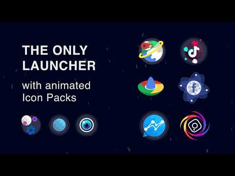 video review of Launcher Live Icons for Android