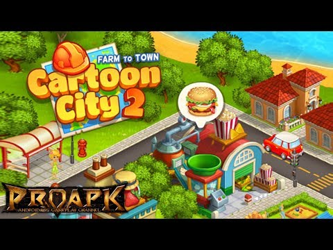 Cartoon City 2: Farm to Town Android Gameplay