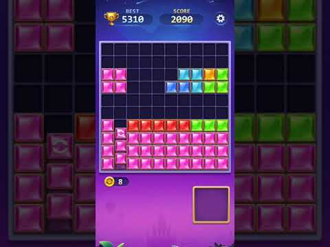 video review of BlockPuz Jewel-Free Classic Block Puzzle Game