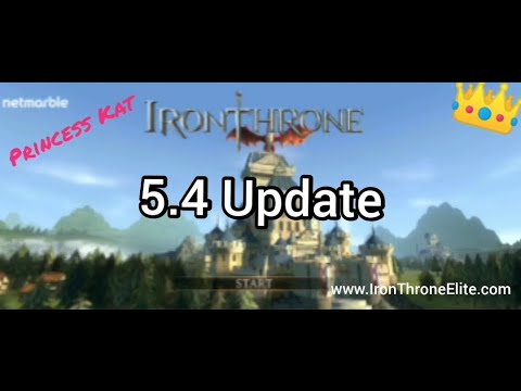 5.4 Update for Iron Throne on Mobile