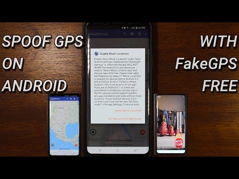 Spoof GPS on Android with Fake GPS GO Location Spoofer Free