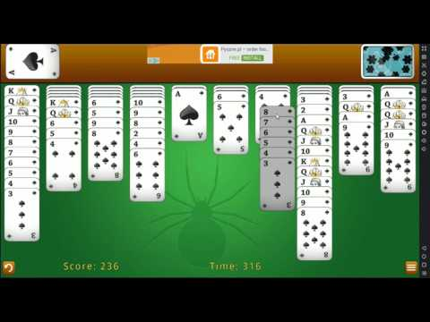 Classic Spider Solitaire for Android by Eper Apps (free android application)