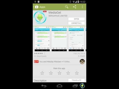 Mediaget for Android Preview