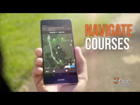 video review of UDisc Disc Golf App
