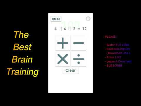 THE BEST BRAIN TRAINING - Android App in PUZZLE Categories
