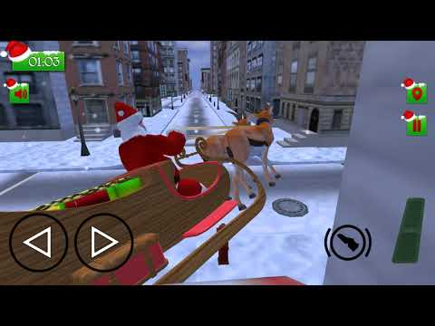 Christmas Santa Rush Delivery- Gift Game - Android Gameplay [14  Mins, 1080p60fps]