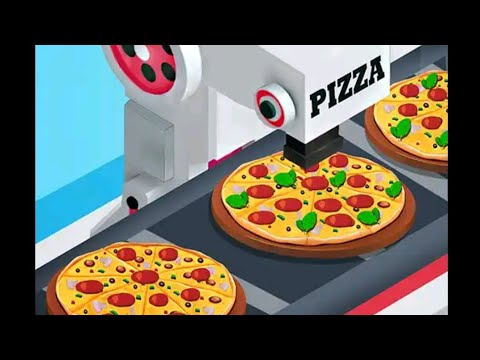 Cake Pizza Factory Tycoon Game | Kitchen Cooking Android Gameplay | New Baking Game | How to Bake