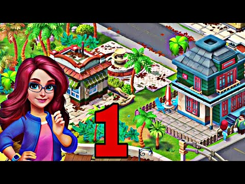 Match Town Makeover - Part 1 - Level 1 to Level 5 - Gameplay - Android/iOS