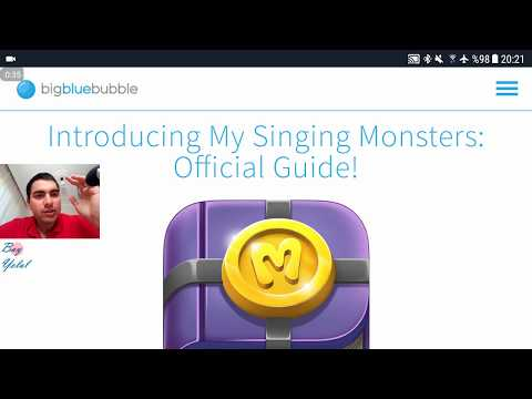 OMG! New App Review! My Singing Monsters: Official Guide! (MSM LEAK! New Celestial is GALVANA!)