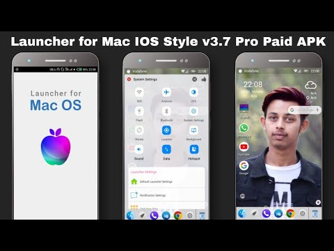 Launcher for Mac IOS Style v3.7 Pro Paid APK