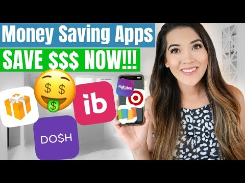 MONEY SAVING APPS I USE TO SAVE THOUSANDS $$$ | Cashback Apps, Rewards, Coupon Apps To Save Money