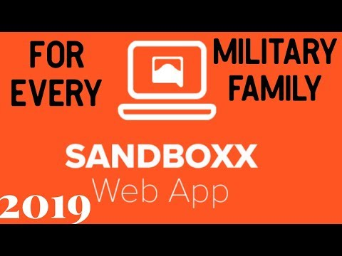 SandBoxx App Review 2019 ( A MUST HAVE For A Military Family ✈️)