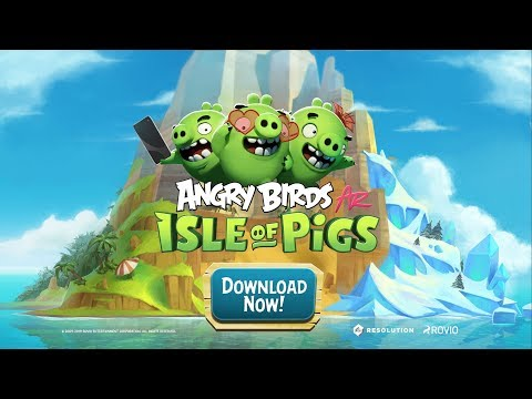 video review of Angry Birds AR