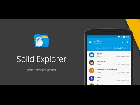 Solid Explorer is an awesome file manager for Android