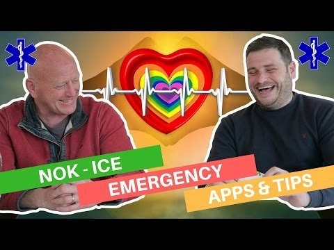NOK ICE & Emergency help - Apps and Tips