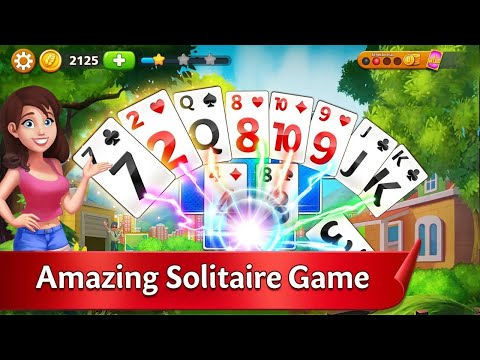 Solitaire Garden - TriPeaks Story Android Gameplay