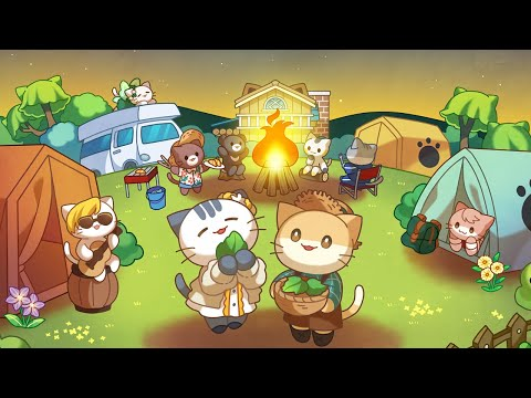 Cat Forest - Healing Camp Android Gameplay