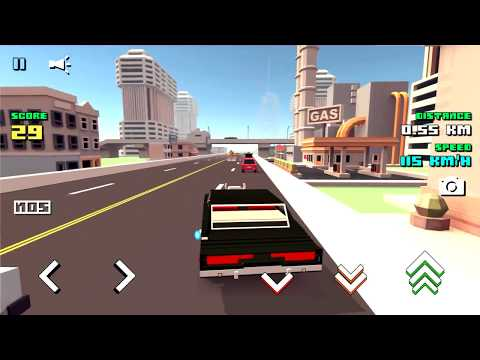 video review of Blocky Car Racer