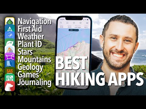 Best Hiking & Backpacking Apps: Navigation, first aid, weather, plant/animal ID, journaling, games