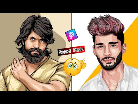 Cartoon Photo Editing Apps For Android || Toolwize Photo Editing || Cartoon Hair Editing Tutorial