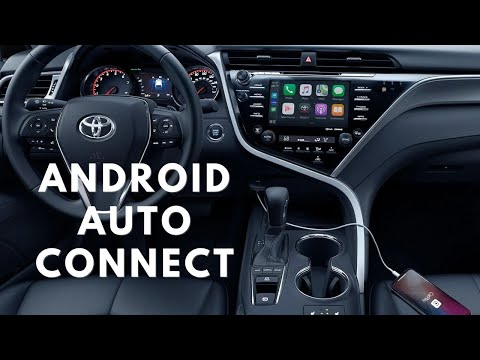 2021 Toyota Entune 3.0 Infotainment System Bluetooth, Android Auto Connection, and How to