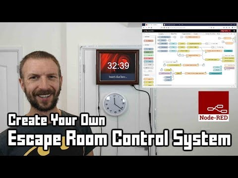 Create your own Escape Room control software using Node RED