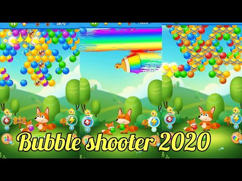Bubble shooter 2020 - Smoothly forest pop bubble shooter game