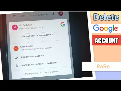 How to Delete Google Account Permanently on Android