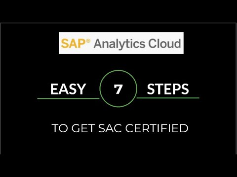 7 Easy step to get SAC (SAP Analytics Cloud) Certification